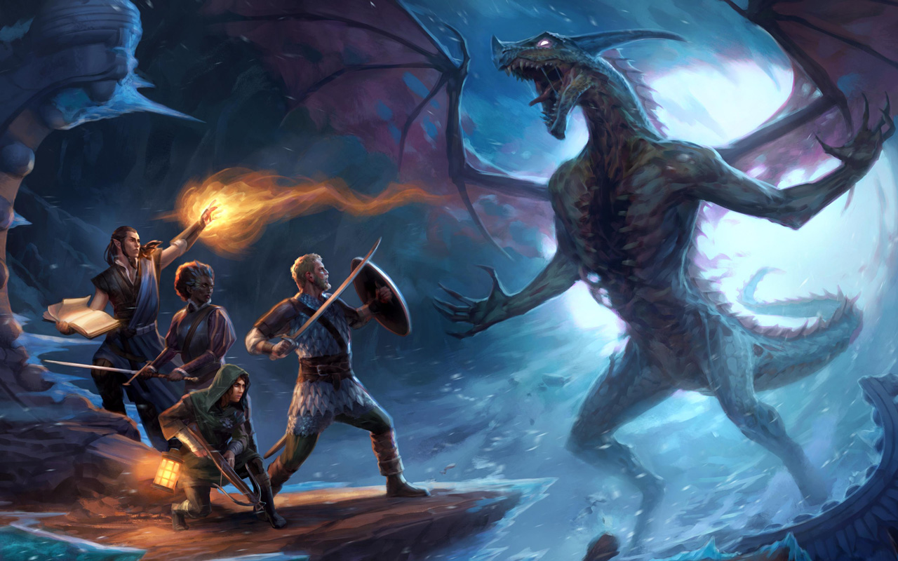 Free Pillars of Eternity II: Deadfire Wallpaper in 1280x800