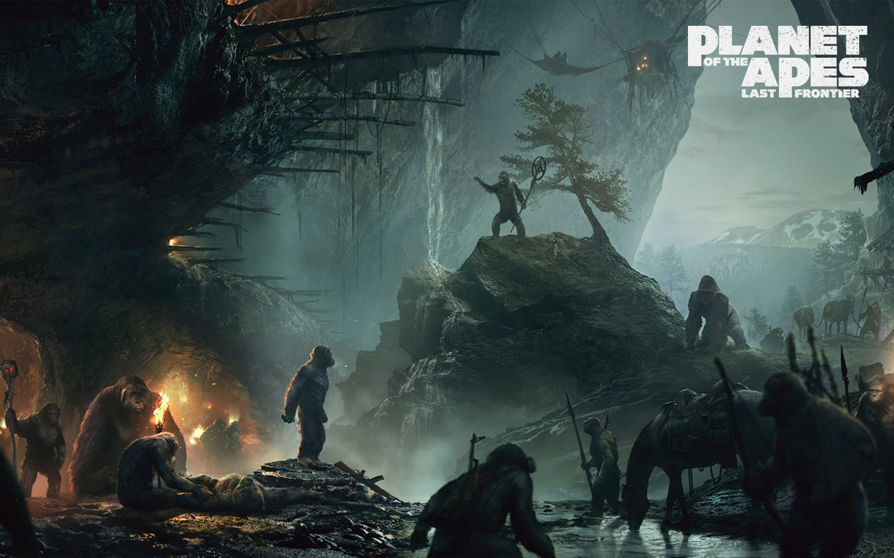 Free Planet of the Apes: Last Frontier Wallpaper in 1280x800