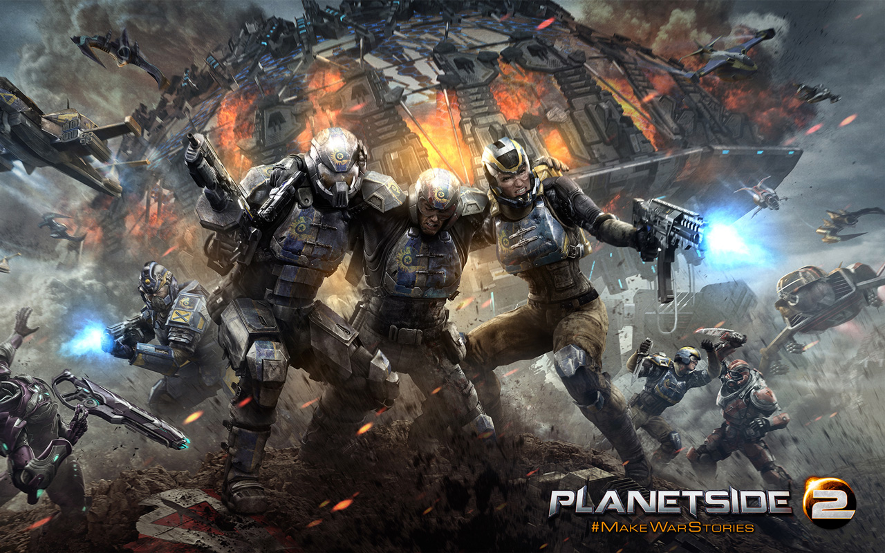 Free Planetside 2 Wallpaper in 1280x800