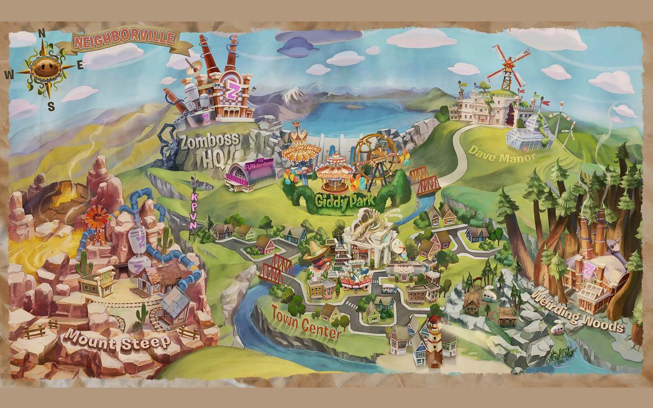 Free Plants vs. Zombies: Battle for Neighborville Wallpaper in 1280x800