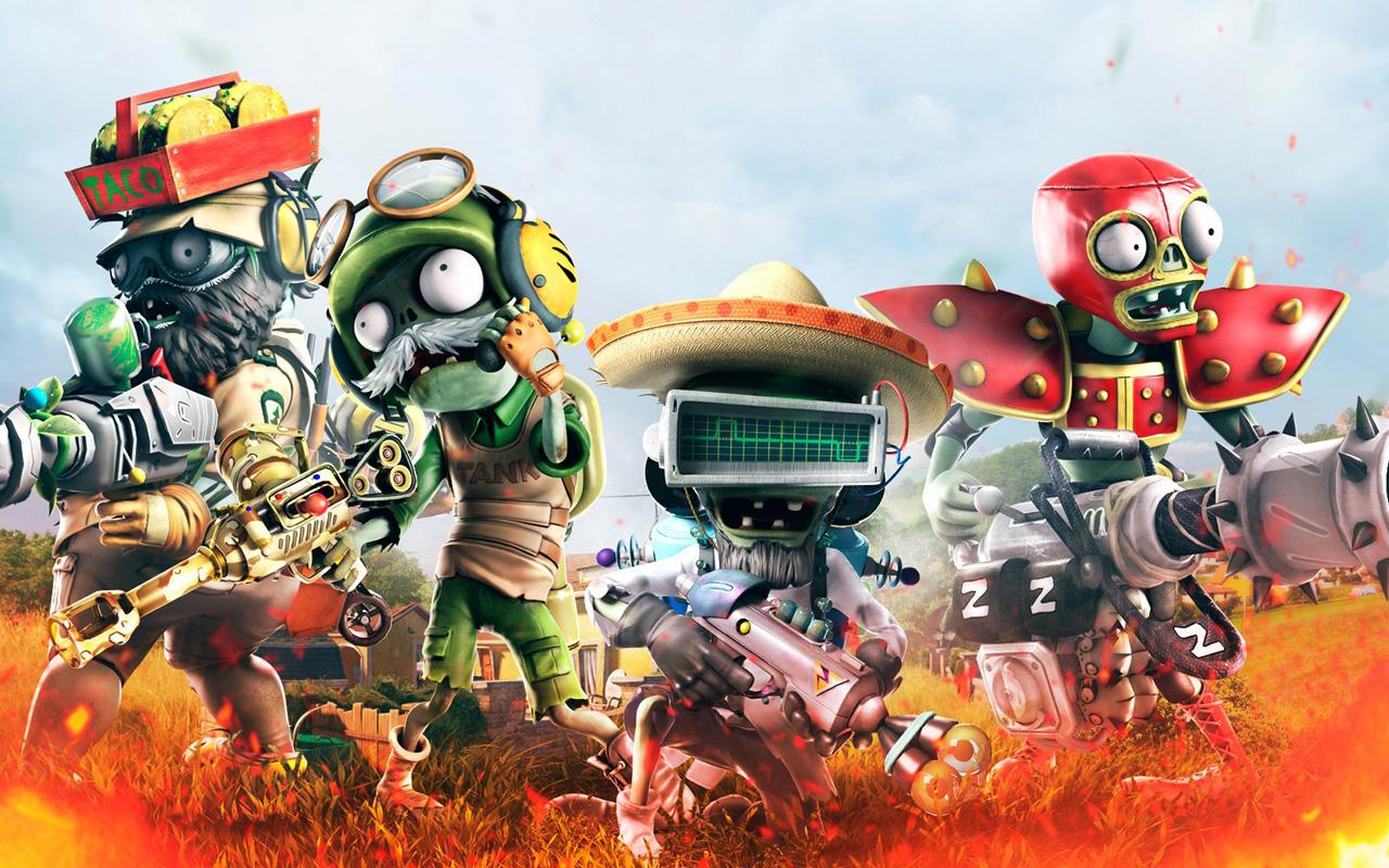 Free Plants vs. Zombies: Garden Warfare Wallpaper in 1280x800
