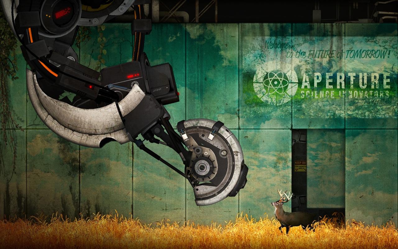 Free Portal 2 Wallpaper in 1280x800