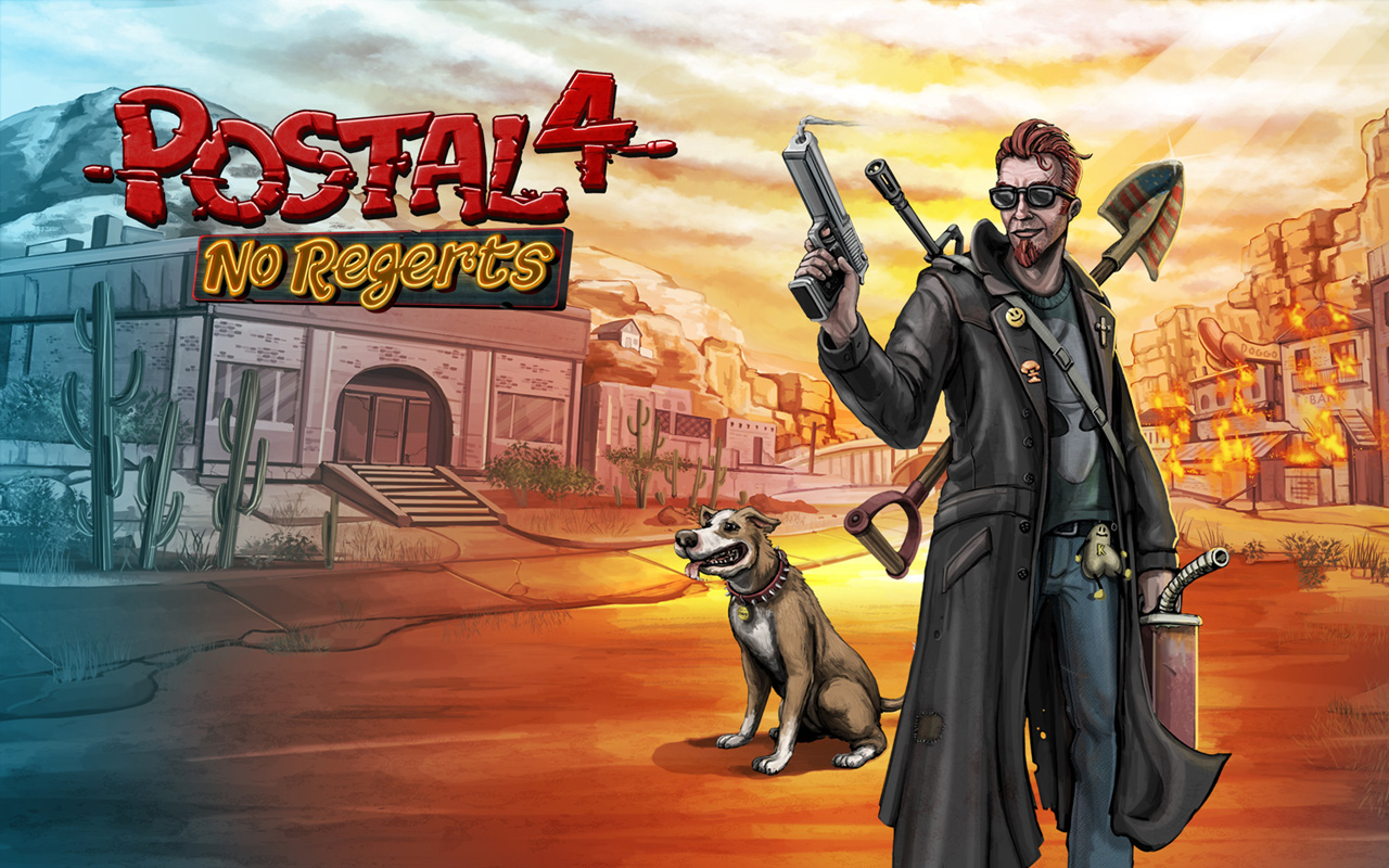 Free Postal 4: No Regerts Wallpaper in 1280x800