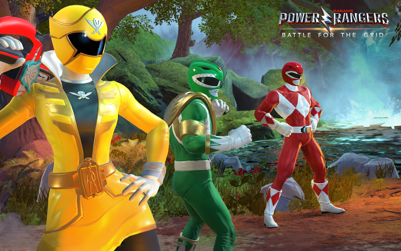Free Power Rangers: Battle for the Grid Wallpaper in 1280x800