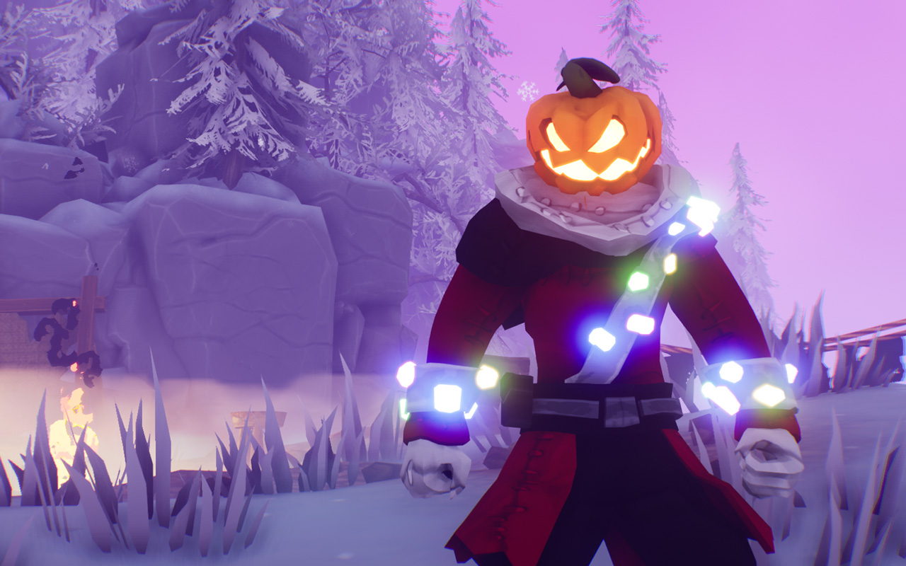 Free Pumpkin Jack Wallpaper in 1280x800