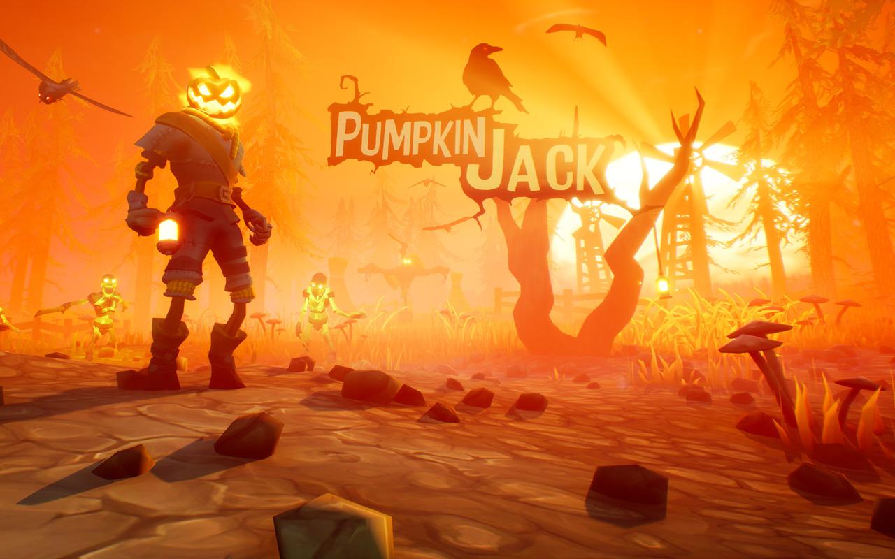 Free Pumpkin Jack Wallpaper in 1280x800