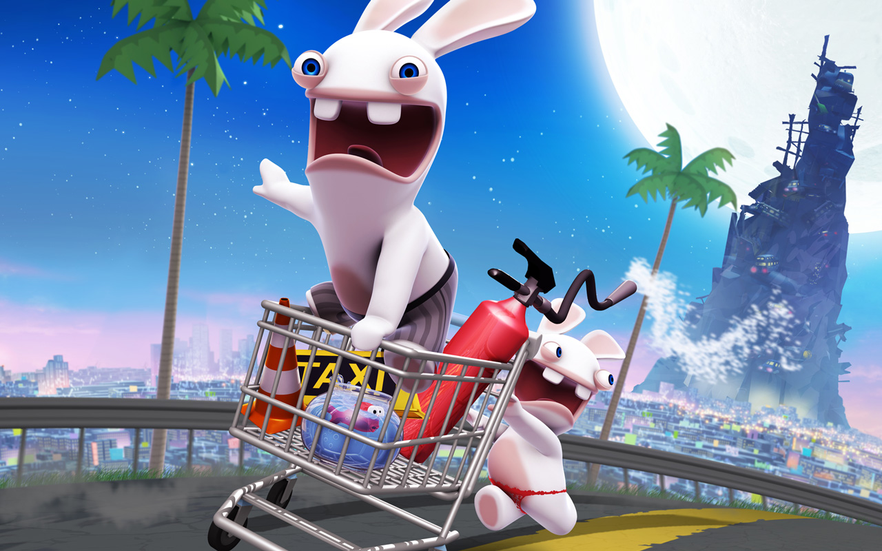 Free Rabbids Go Home Wallpaper in 1280x800