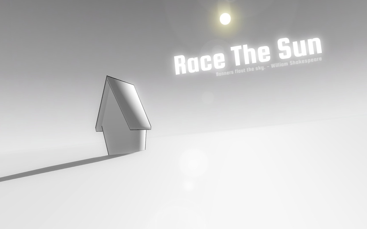 Free Race the Sun Wallpaper in 1280x800