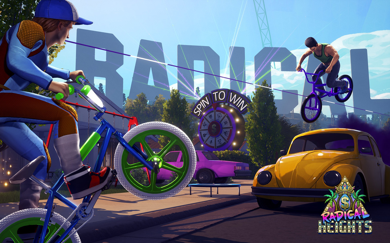 Free Radical Heights Wallpaper in 1280x800