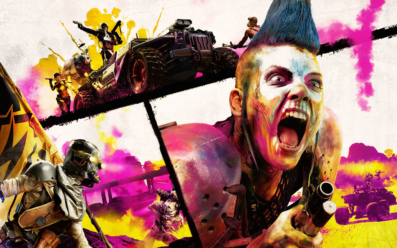 Free Rage 2 Wallpaper in 1280x800
