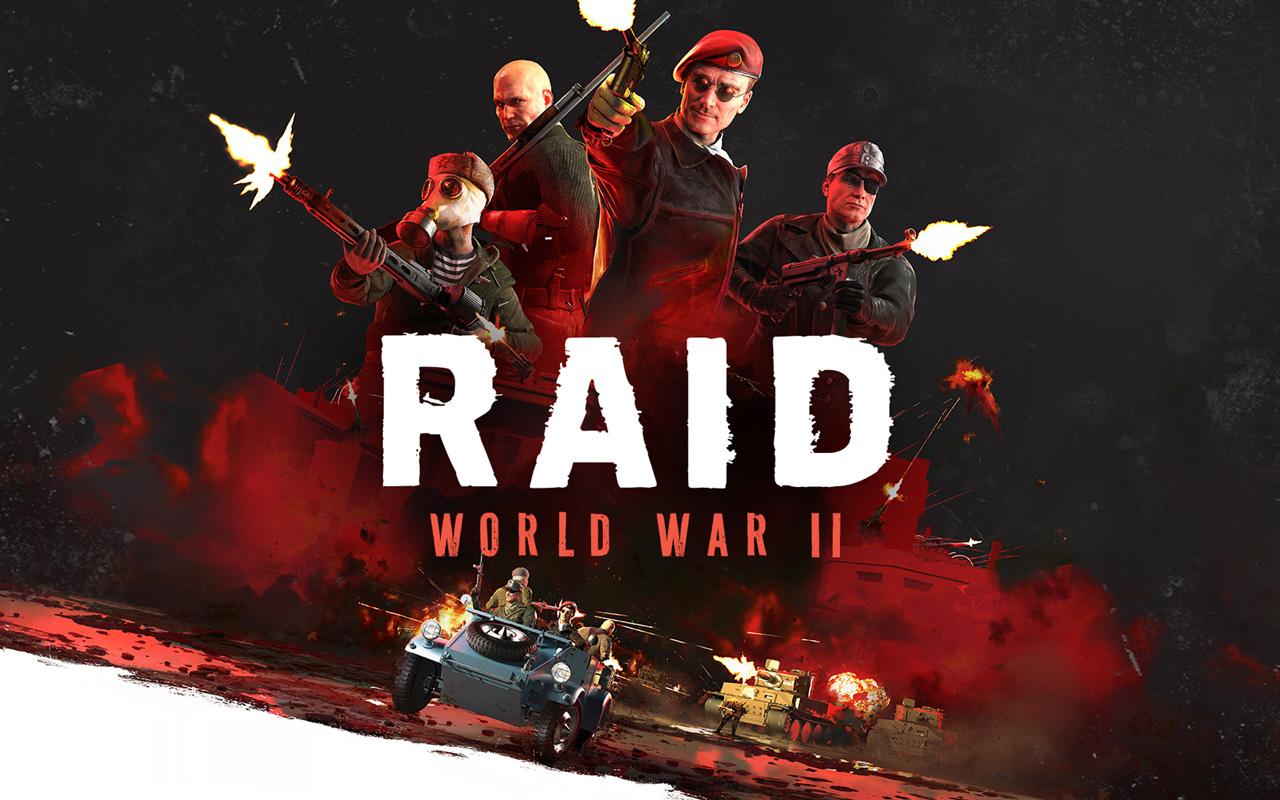 Free Raid: World War II Wallpaper in 1280x800