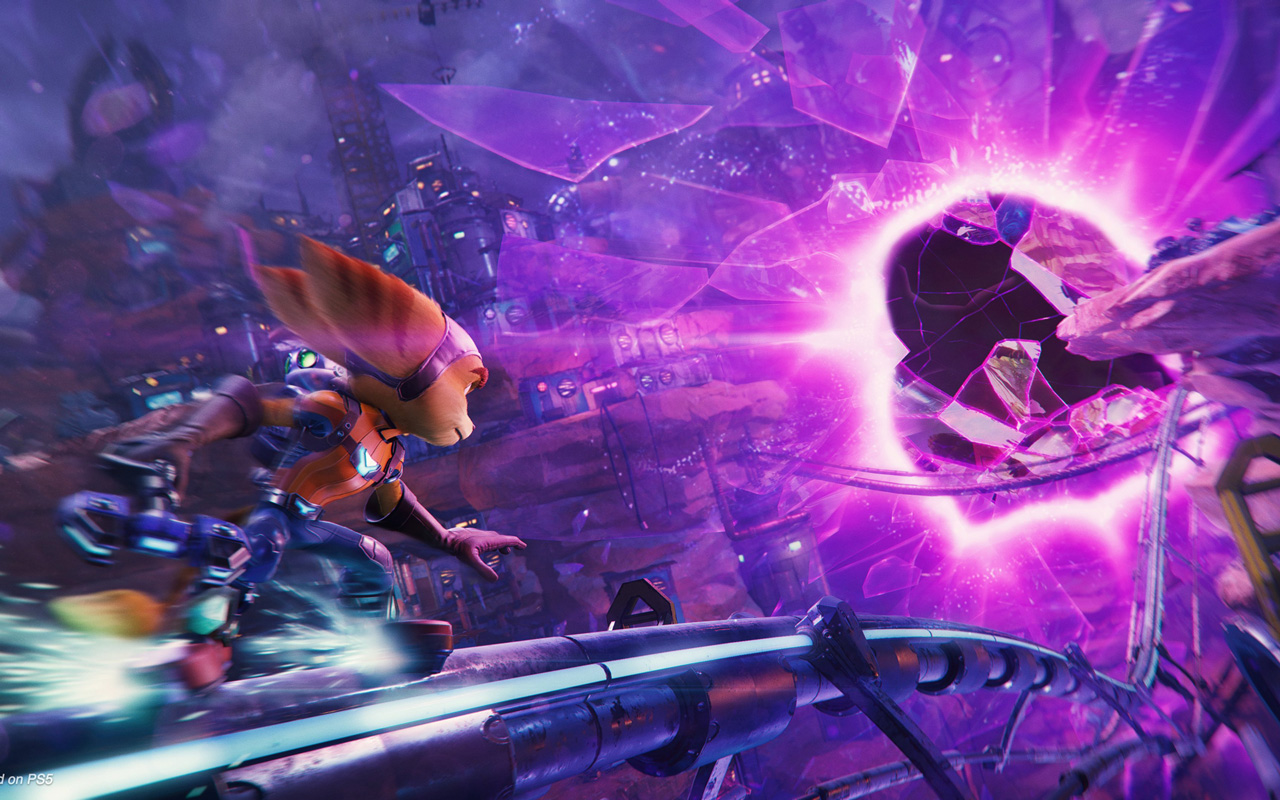 Free Ratchet & Clank: Rift Apart Wallpaper in 1280x800
