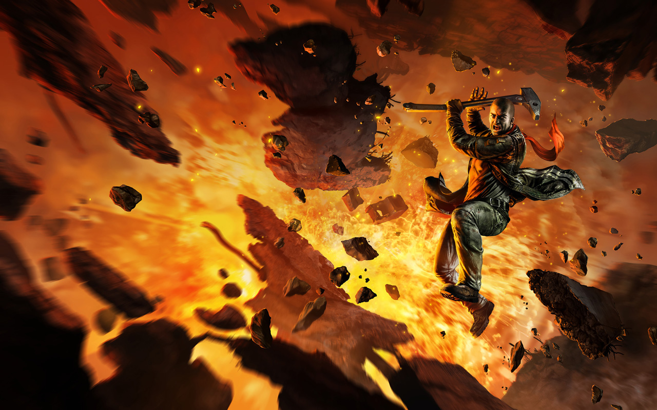 Free Red Faction: Guerrilla Wallpaper in 1280x800
