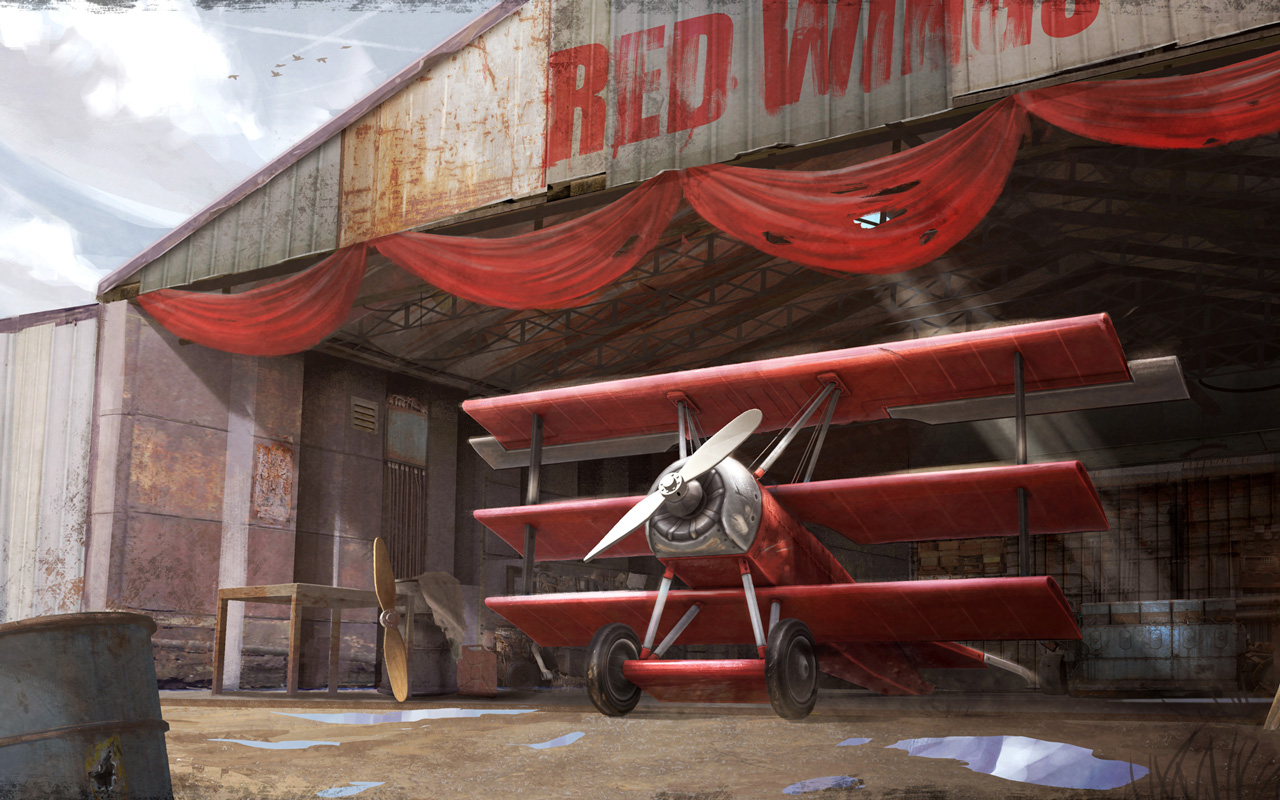 Free Red Wings: Aces of the Sky Wallpaper in 1280x800