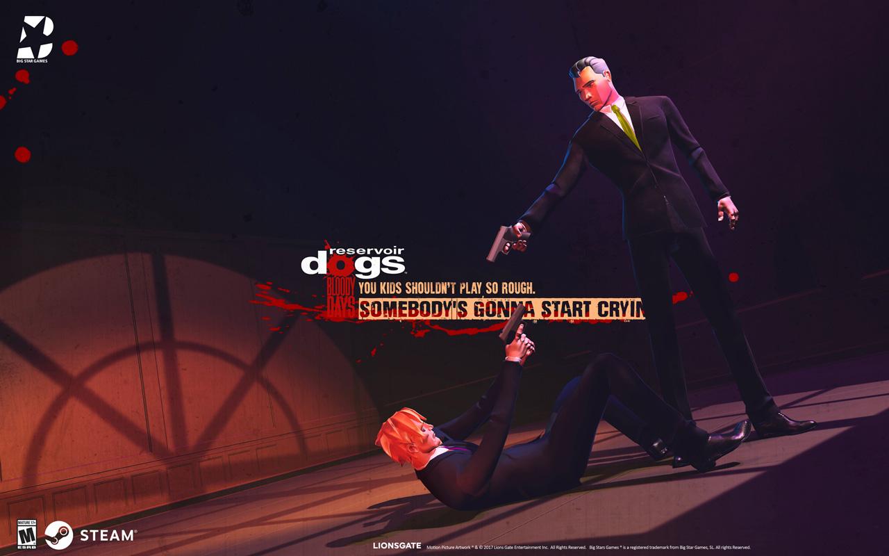 Free Reservoir Dogs: Bloody Days Wallpaper in 1280x800