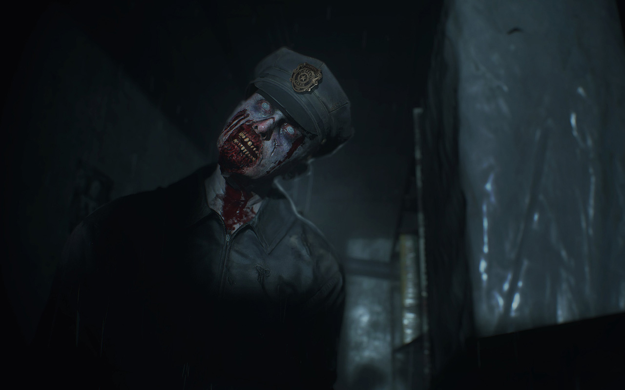 Free Resident Evil 2 Wallpaper in 1280x800