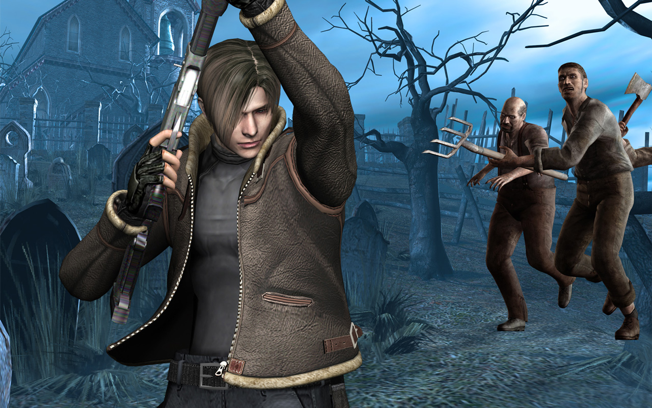 Resident Evil 4 Wallpaper in 1280x800