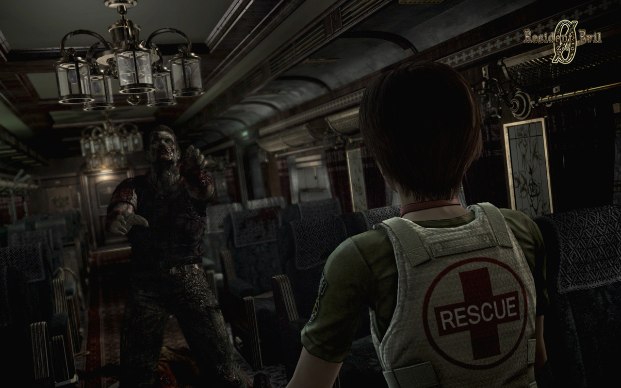 Free Resident Evil Zero Wallpaper in 1280x800