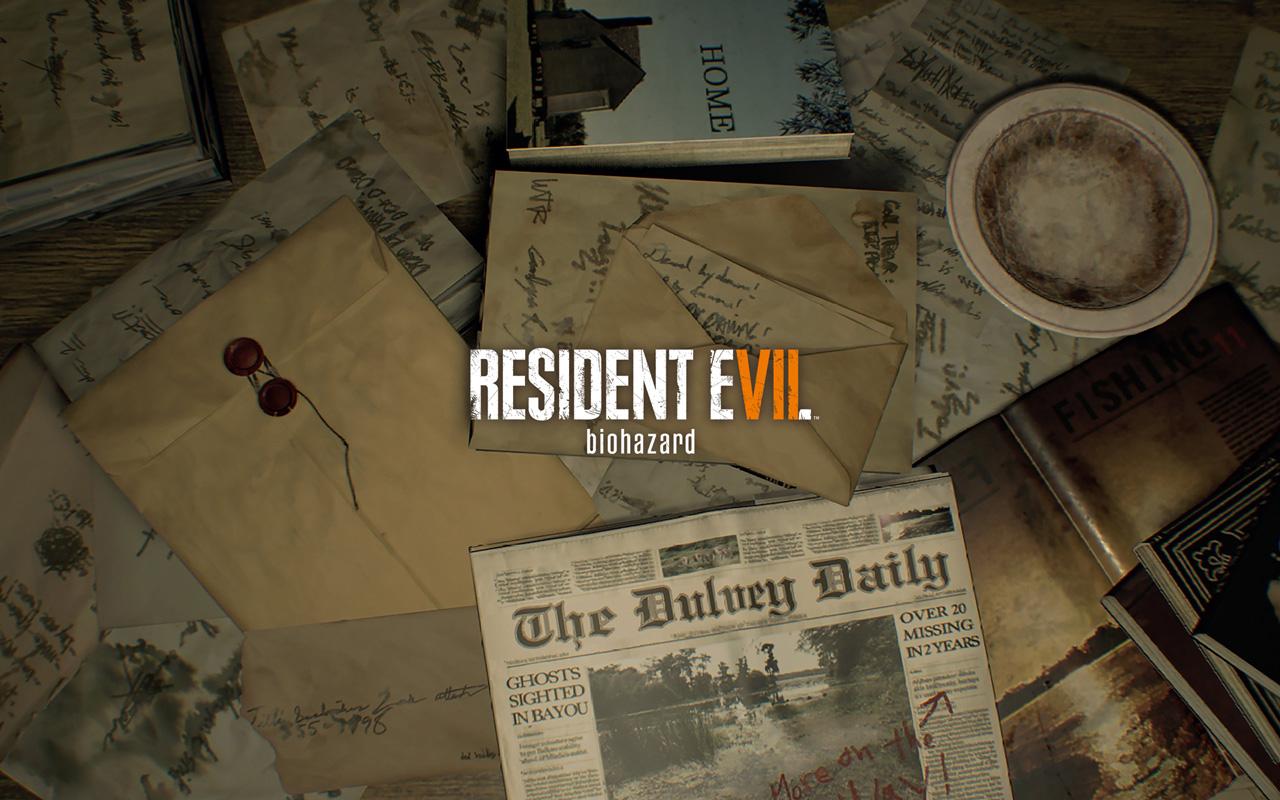 Free Resident Evil 7 Wallpaper in 1280x800