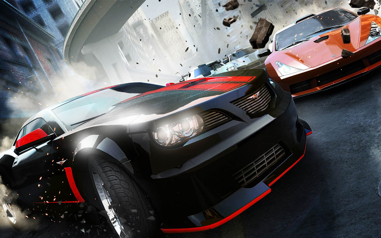 Free Ridge Racer Unbounded Wallpaper in 1280x800