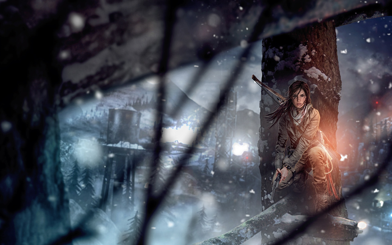 Free Rise of the Tomb Raider Wallpaper in 1280x800