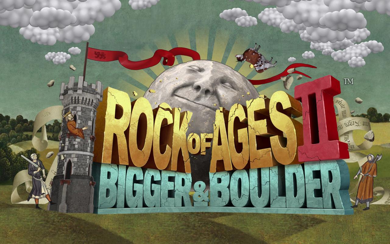 Free Rock of Ages II: Bigger & Boulder Wallpaper in 1280x800