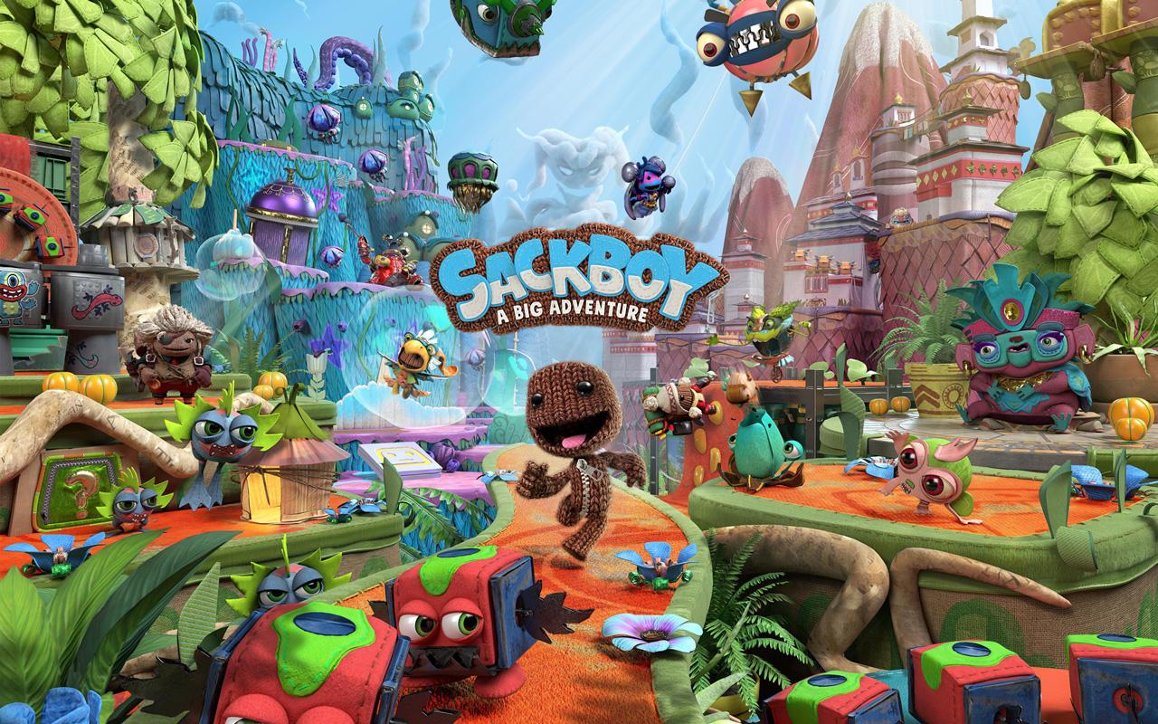 Free Sackboy: A Big Adventure Wallpaper in 1280x800