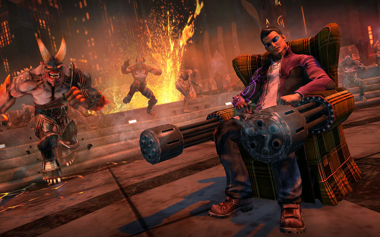 Free Saints Row: Gat Out of Hell Wallpaper in 1280x800