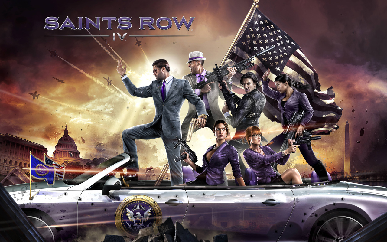 Free Saints Row IV Wallpaper in 1280x800