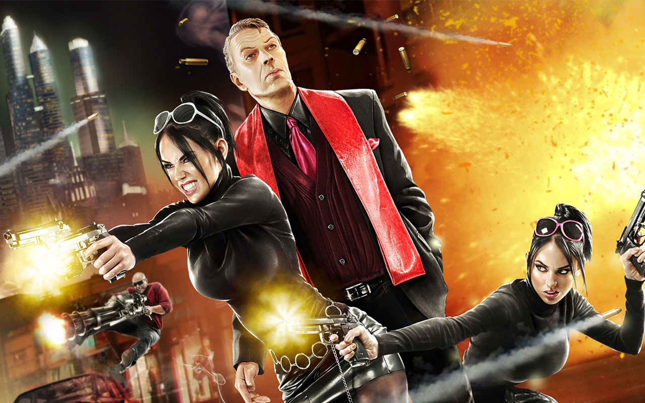 Free Saints Row: The Third Wallpaper in 1280x800