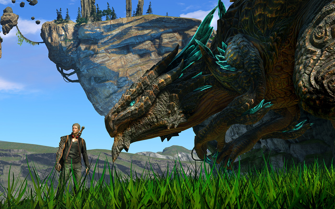 Free Scalebound Wallpaper in 1280x800