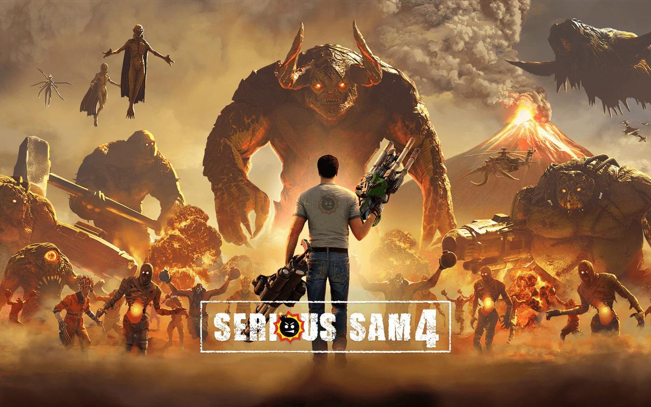Free Serious Sam 4: Planet Badass Wallpaper in 1280x800
