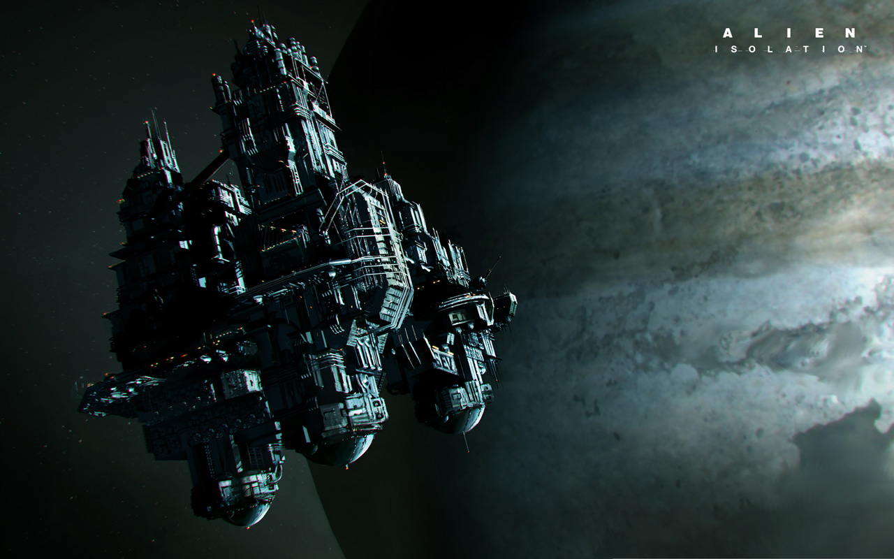 Free Alien Isolation Wallpaper in 1280x800
