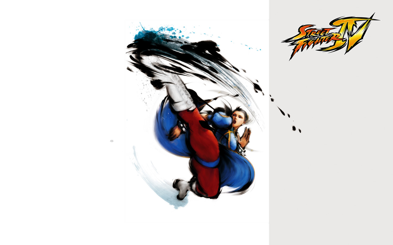 Free Street Fighter IV Wallpaper in 1280x800