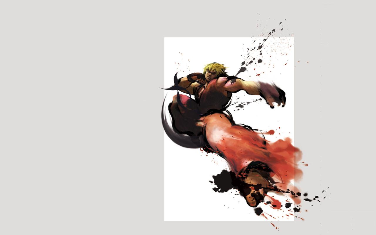 Free Street Fighter IV Wallpaper in 1280x800