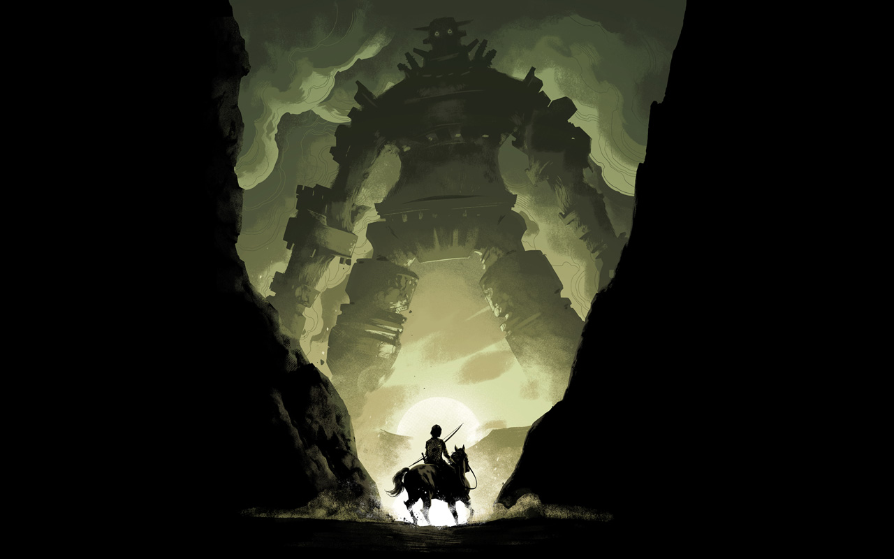Free Shadow of the Colossus Wallpaper in 1280x800