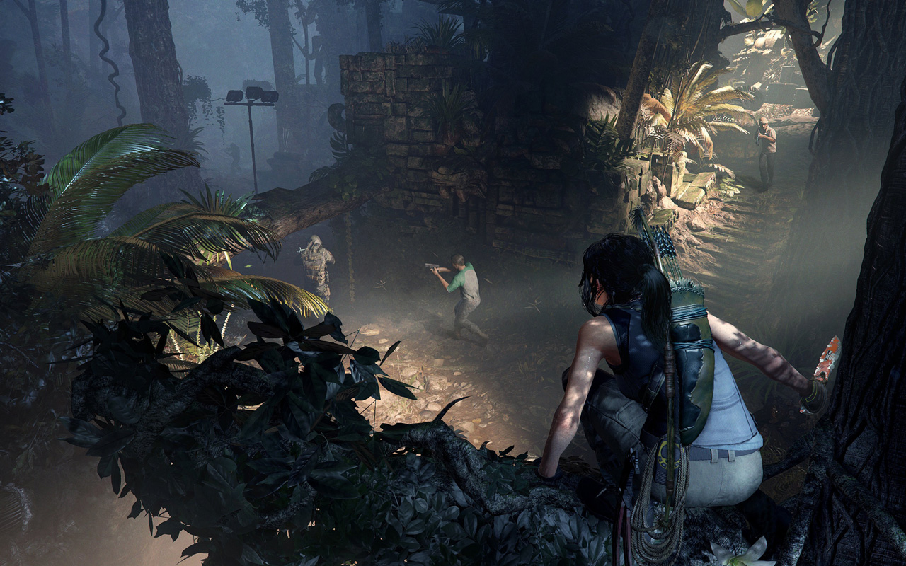 Free Shadow of the Tomb Raider Wallpaper in 1280x800
