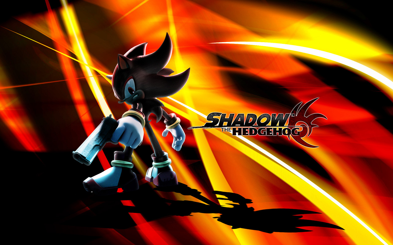 Free Shadow the Hedgehog Wallpaper in 1280x800