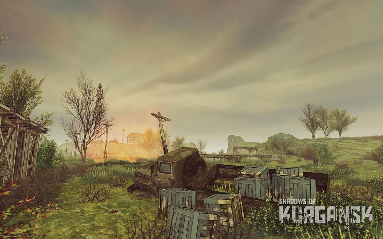 Free Shadows of Kurgansk Wallpaper in 1280x800