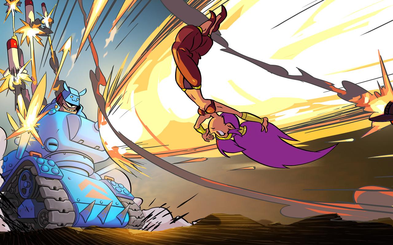 Free Shantae: Risky's Revenge Wallpaper in 1280x800