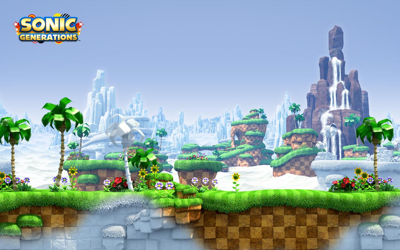 Free Sonic Generations Wallpaper in 1280x800