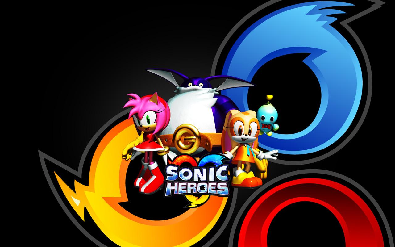 Free Sonic Heroes Wallpaper in 1280x800