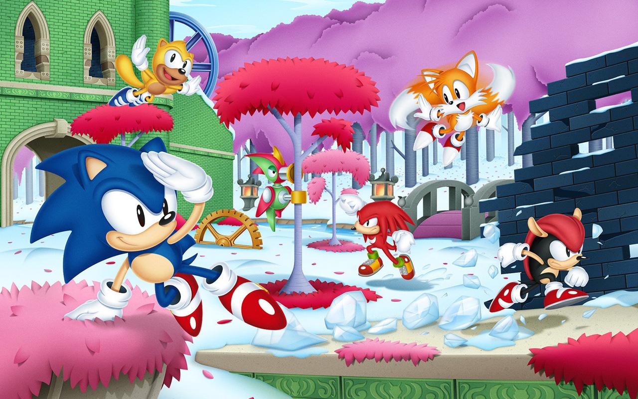 Free Sonic Mania Wallpaper in 1280x800