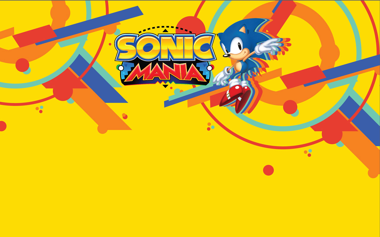 Free Sonic Mania Wallpaper in 1280x800