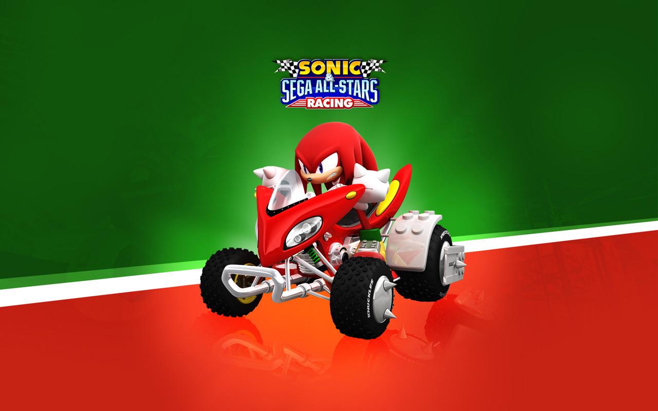Free Sonic & Sega All-Stars Racing Wallpaper in 1280x800