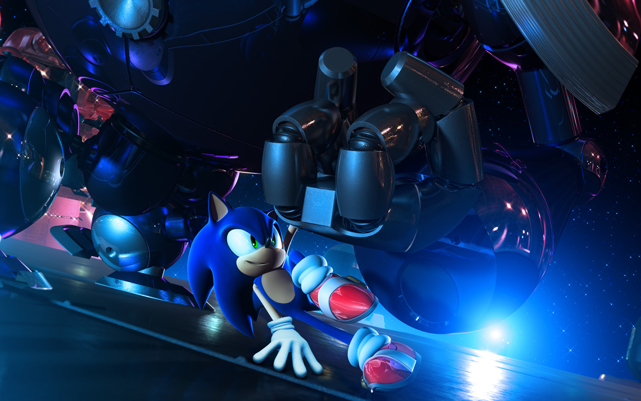 Free Sonic Unleashed Wallpaper in 1280x800