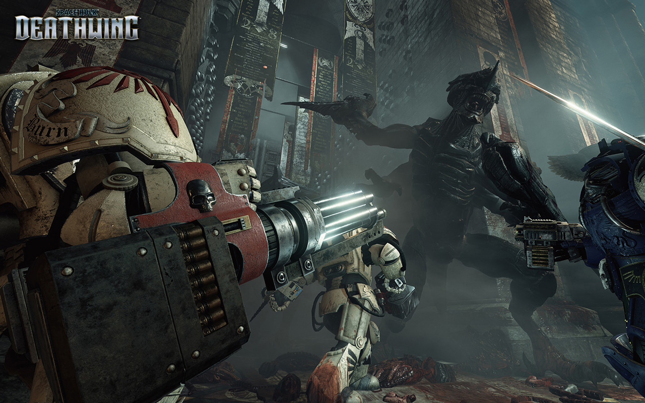 Free Space Hulk: Deathwing Wallpaper in 1280x800
