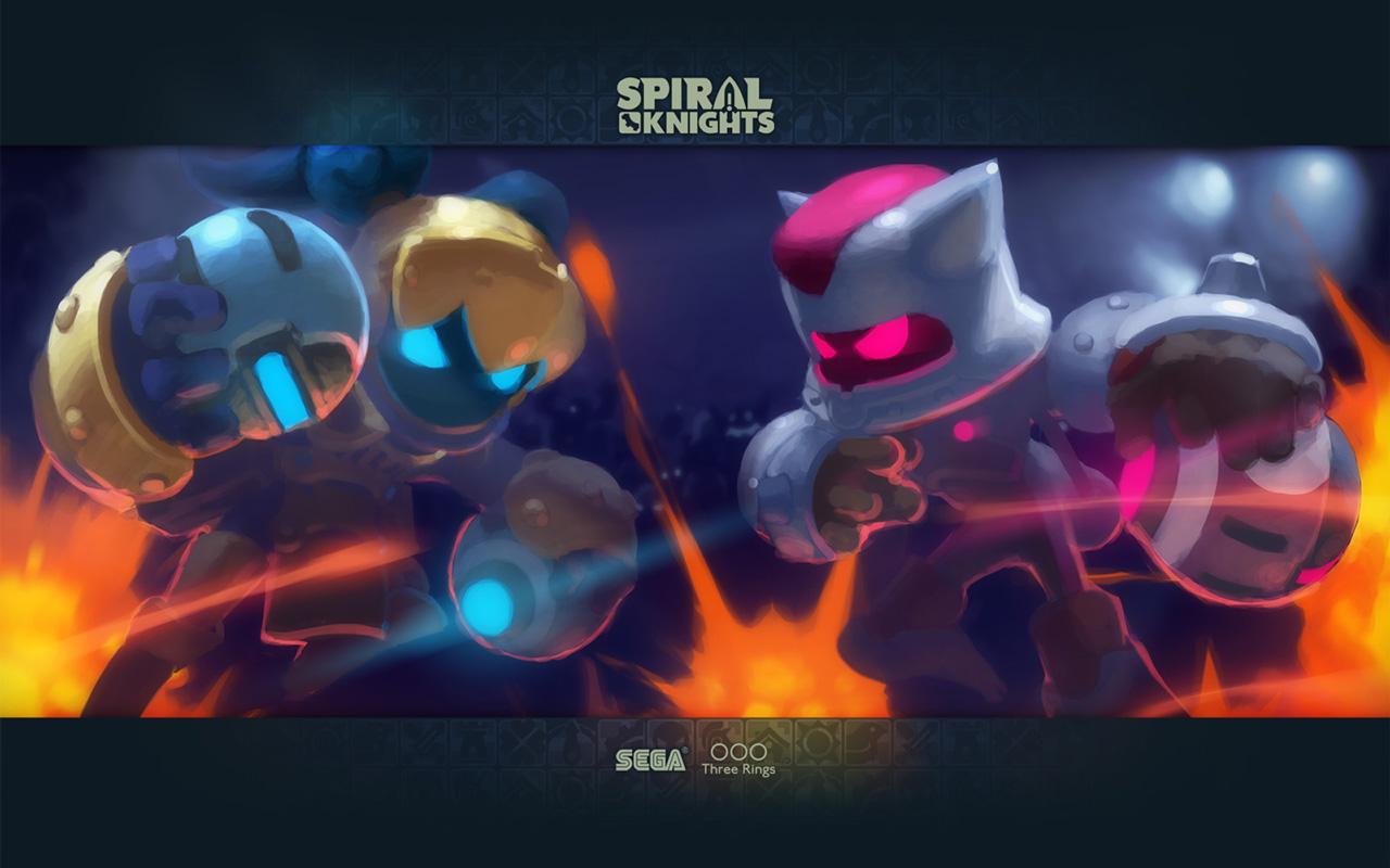 Free Spiral Knights Wallpaper in 1280x800
