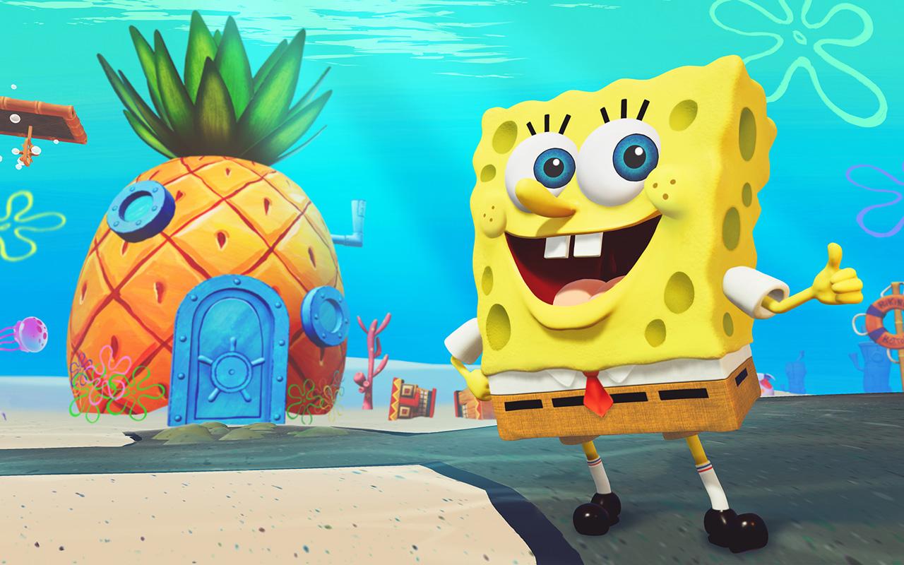 Free SpongeBob SquarePants: Battle for Bikini Bottom Wallpaper in 1280x800