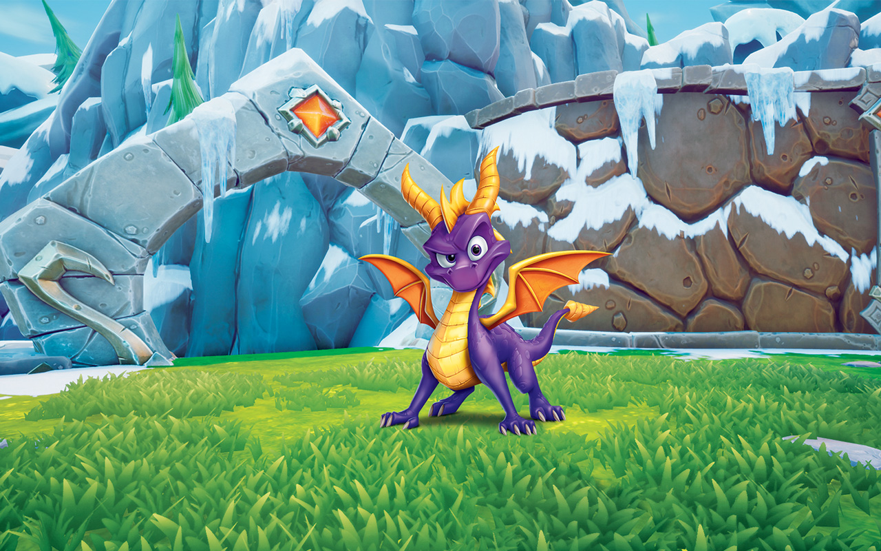 Free Spyro the Dragon Wallpaper in 1280x800